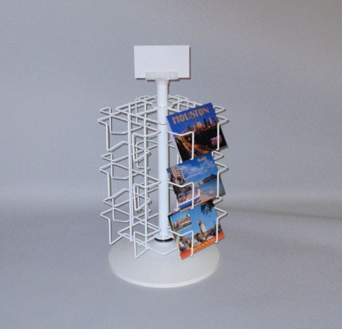 12 Pocket Revolving Countertop Display (6 in. wide pockets)