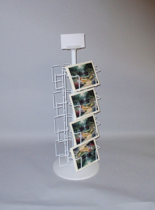 12 Pocket Revolving Countertop Display (7 1/2 in. pockets)