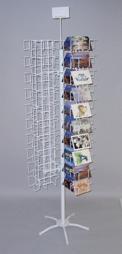 120 Pocket Revolving Floor Display (6 in. wide pockets)